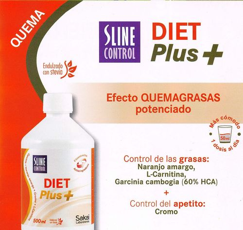 Sline Control QUEMAGRASAS DIET PLUS+ 500ml