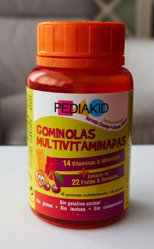 PEDIAKID Gominolas Multivitaminas