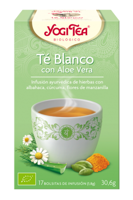 yogi tea Te blanco aloe